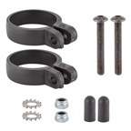 SKS Suspension Fork Clamps 34.0-37.0mm Black