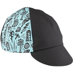 Salsa Gravel Stories Cycling Cap - Black/Blue, One Size