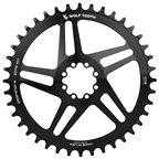 Wolf Tooth Direct Mount Chainring - 44t, SRAM Direct Mount, Drop-Stop, For SRAM 8-Bolt Cranksets, 6mm Offset, Black