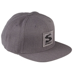 Surly Gray Area Snap Back Hat - Dark Heather Gray, One Size