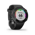 Garmin, Forerunner 45 Small, Watch, Watch Color: Black, Wristband: Black - Silicone
