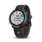Garmin, Forerunner 645M, Watch, Watch Color: Slate Grey, Wristband: Slate - Silicone - L