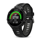 Garmin, Forerunner 735XT, Watch, Watch Color: Black, Wristband: Black/ Grey - Silicone