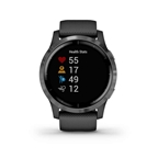 Garmin, vivoactive 4, Watch, Watch Color: Black, Wristband: Black - Silicone
