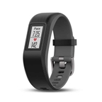 Garmin, vívosport, Watch, Watch Color: Slate/ Grey, Wristband: Slate - Silicone - S