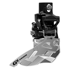 SRAM GX 2x10 Top Swing Front Derailleur, Dual Pull, 31.8/34.9mm Clamp