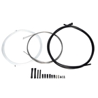 SRAM Slick Wire Shifter Cable and Housing Set, Stainless Steel, Black