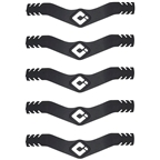 ODI Ear Saver Face Mask Straps - Black/White Pack of 5