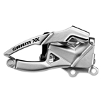 SRAM XX Front Derailleur, 2x10sp, Bottom pull, Direct mount, Spec 3, For 39T