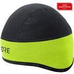 GORE C3 WINDSTOPPER(r) Helmet Cap - Black/Neon Yellow