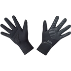 GORE C3 GORE-TEX INFINIUM Stretch Mid Gloves - Black, Full Finger