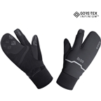 GORE GORE-TEX WINDSTOPPER INFINIUM Thermo Split Gloves - Black, Lobster Style
