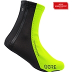 GORE C5 WINDSTOPPER Overshoes - Neon Yellow/Black
