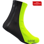 GORE C5 WINDSTOPPER Thermo Overshoes - Neon Yellow/Black