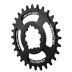 Burgtec GXP Boost 3mm Offset Thick Thin Chainring, 28T - Black