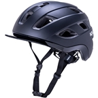 Kali Protectives Traffic Helmet - Solid Matte Black, Small/Medium