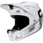 Fox Racing Rampage Pro Carbon Full Face Helmet - WURD White, Medium
