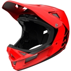 Fox Racing Rampage Comp Full Face Helmet - Matte Black, Small