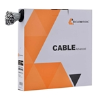 Ciclovation Advanced ISS Stainless Steel Slick MTB Brake Cables, 1.5mm, 1700mm, Box of 100