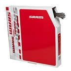SRAM Stainless Shifter Cable, 1.1mm x 2200mm, Shimano/SRAM, 100pcs