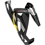 Elite Custom Race Plus Water Bottle Cage - Glossy Black/Yellow