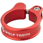 Wolf Tooth Seatpost Clamp - 28.6mm, Red