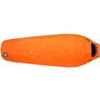 Big Agnes Inc. Lost Dog 15F Fireline Eco Sleeping Bag - Orange/Navy Long