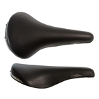 Selle San Marco Rolls Saddle, 282 x 143mm, Black Leather