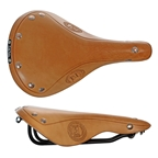 Selle Italia Epoca 1897 Saddle, 281 x 176mm, Creamy Brown Leather