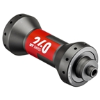 DT Swiss 240 Front Hub - QR x 100mm, straight Pull, 20h, Black/Red