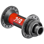 DT Swiss 240 Front Hub - 15 x 110mm, Center Lock, 28h, Black/Red
