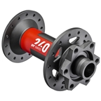 DT Swiss 240 Front Hub - 15 x 110mm, 6-Bolt Disc, 28h, Black/Red