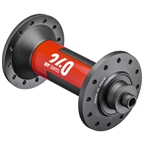 DT Swiss 240 Front Hub - QR x 100mm, 20h, Black/Red
