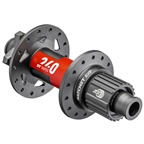 DT Swiss 240 EXP Rear Hub - 12 x 148mm, 6-Bolt Disc, 28h, Micro Spline, Black/Red