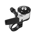 Sturmey-Archer SLS80-T8 Right Thumb Shifter with 1900mm Cable, 8 Speed, 22.2mm, Black/Silver