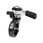 Sturmey-Archer SLS30-T Right Thumb Shifter with 1950mm Cable, 3 Speed, 31.8mm, Black/Silver