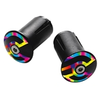 Cinelli Expander Alloy End Plugs, Ano Caleido, Pair