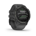 Garmin fenix 6 Pro Solar Watch, Black/Gray