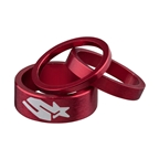 Spank Headset Spacer Kit, 3/6/12mm, Red