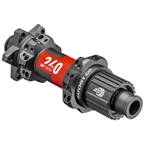 DT Swiss 240 EXP Rear Hub - 12 x 148mm, 6-Bolt, Micro Spline, Black/Red, 28H, Straight Pull, 36pt