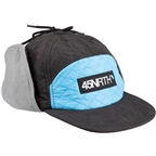 45NRTH Polar Flare Flap Cap - Black, Blue, One Size