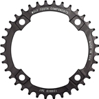 Wolf Tooth 120 BCD Chainring - 36t, 120 BCD, 4-Bolt, Drop-Stop, Black