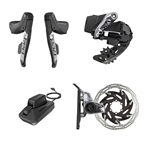 SRAM Red AXS eTap HRD 1x Electronic Road Groupset, Black