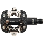 LOOK X-TRACK RACE Pedals - Dual Sided Clipless Chromoly 9/16 Black