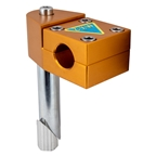 Nitto MX-2 Quill Stem, 21.1 x 22.2mm, 0d, Gold