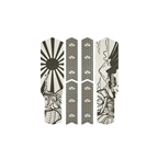 Rie:sel Design Tape 3000 Chain Guard Protection Film Set, Japan Gray