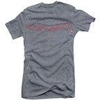 Club Ride Saw T-Shirt - Heathered Gray Women's Medium