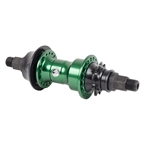 The Shadow Conspiracy Symbol Cassette Rear Hub, 1s with 9t Driver, 14 x 110mm Bolt On LHD, 36H, British Racing Green