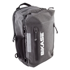 BiKase Urbanator Backpack Pannier Combo Bag, Black/Gray