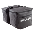BiKase Urbanator Adjustable Panniers, Black/Gray